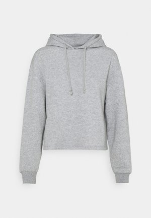 PCCHILLI HOODIE  - Sweatshirt - light grey melange