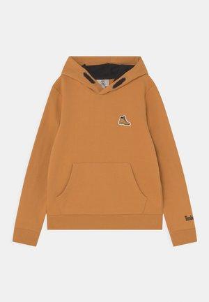 HOODED  - Sweater - ochre