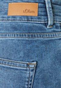 s.Oliver - Denim shorts - blue denim - 2