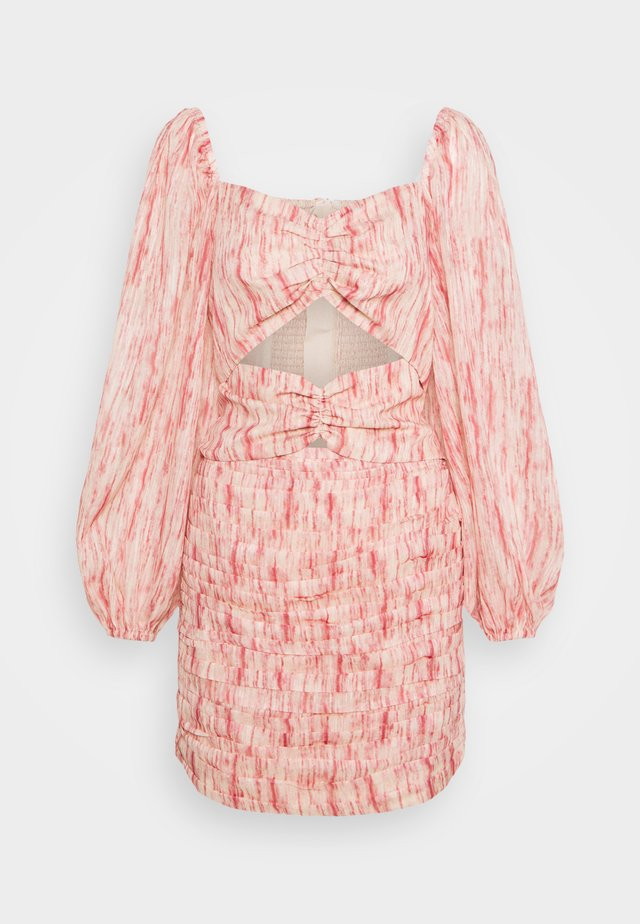 WHIRL DRESS - Day dress - pink burnout