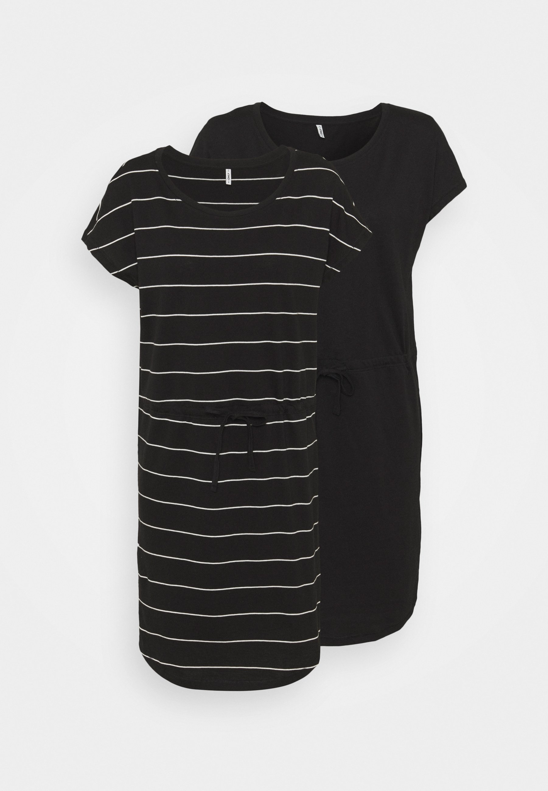 Damen ONLMAY LIFE DRESS 2 PACK - Jerseykleid