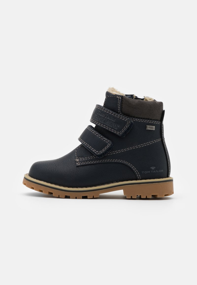 TOM TAILOR - UNISEX - Winter boots - navy