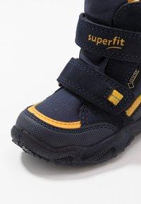 Superfit - GLACIER - Winter boots - blau/gelb - 2
