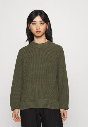 SLFLESLIE O NECK - Pullover - kalamata