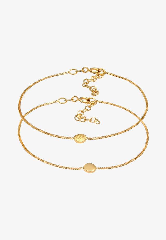 2ER SET  - Armband - gold
