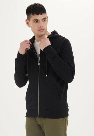 ESSENTIALS  - Zip-up hoodie - black