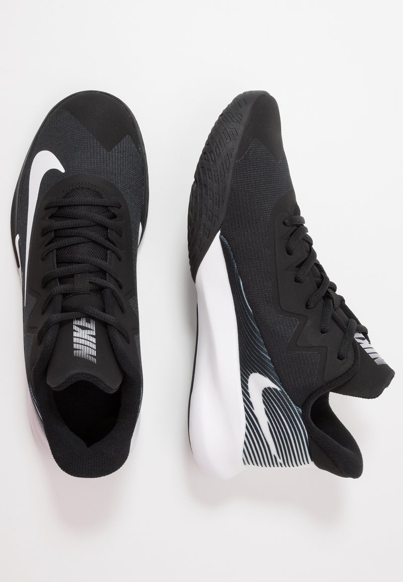 coger un resfriado híbrido pompa  Nike Performance PRECISION 4 - Basketball shoes - black/white/black -  Zalando.co.uk