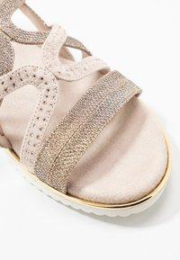 Jana - Sandals - gold metallic - 2