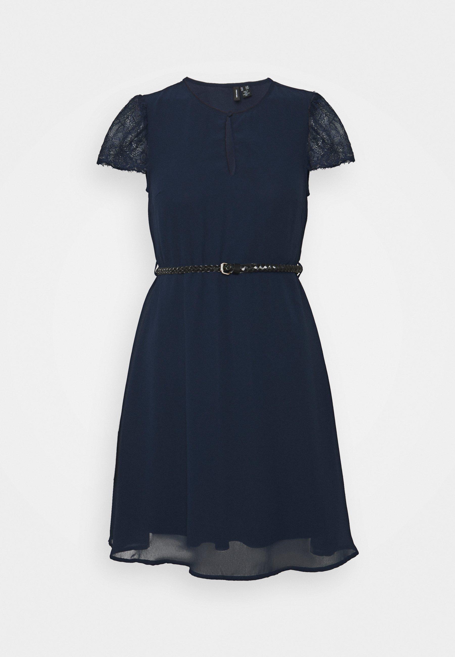 Women VMNADIME CAPSLEEVE DRESS PETITE - Day dress