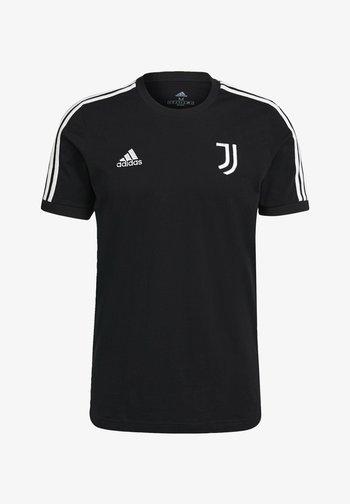 JUVE 3S TEE - Pelipaita - black/white
