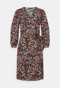 Soaked in Luxury - KIMAYA WRAP DRESS - Day dress - multi-coloured - 4