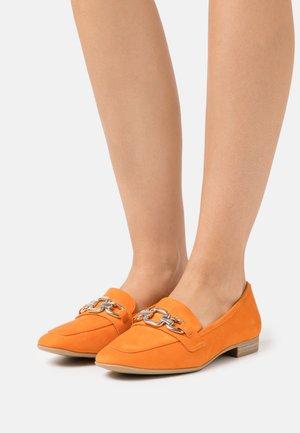 Nazouvací boty - orange