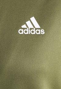 adidas Performance - TEAMSPORT - Tracksuit - focus olive/black - 5