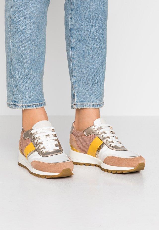 TABELYA - Sneakers basse - dark skin/white