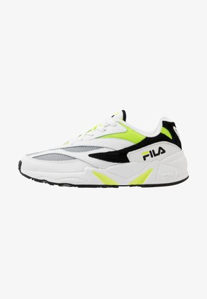 V94M - Sneakersy niskie - white/black/neon lime