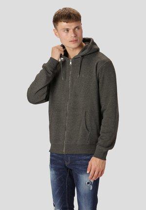 Zip-up sweatshirt - phantom grey mix
