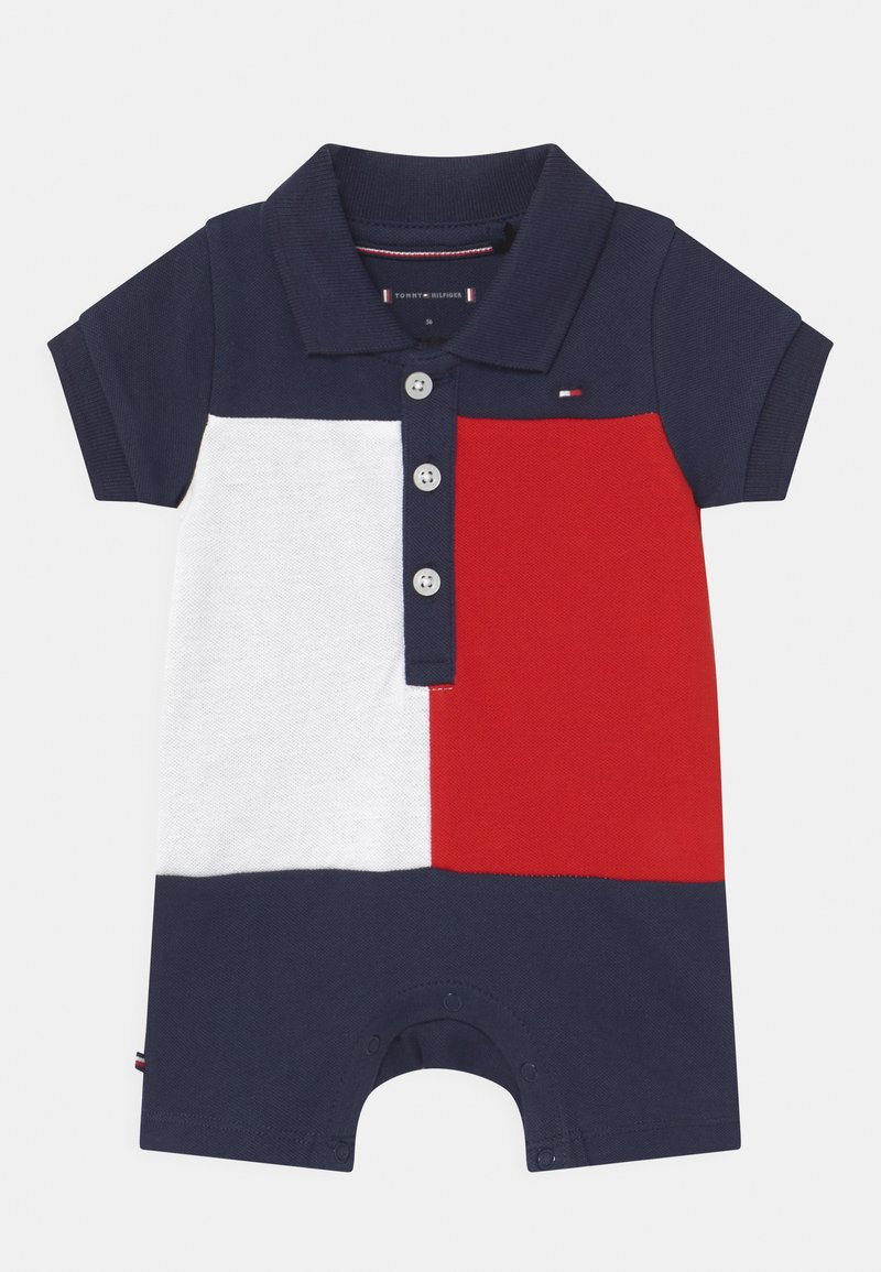 Tommy Hilfiger - BABY COLORBLOCK UNISEX - Overal - twilight navy