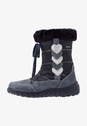 Zimní obuv - atlantic/silver