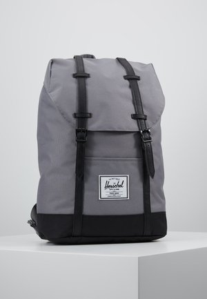 RETREAT - Rucksack - grey/black