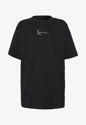 KK SIGNATURE TEE - Basic T-shirt - black