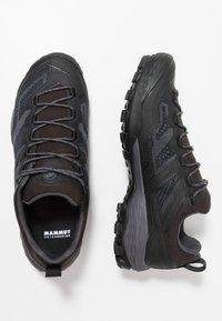 Mammut - DUCAN - Hiking shoes - black/dark titanium - 1