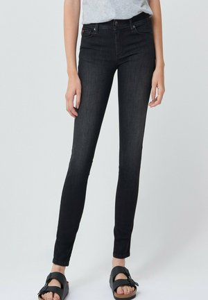 PUSH UP SKINNY - Jeans Skinny - schwarz
