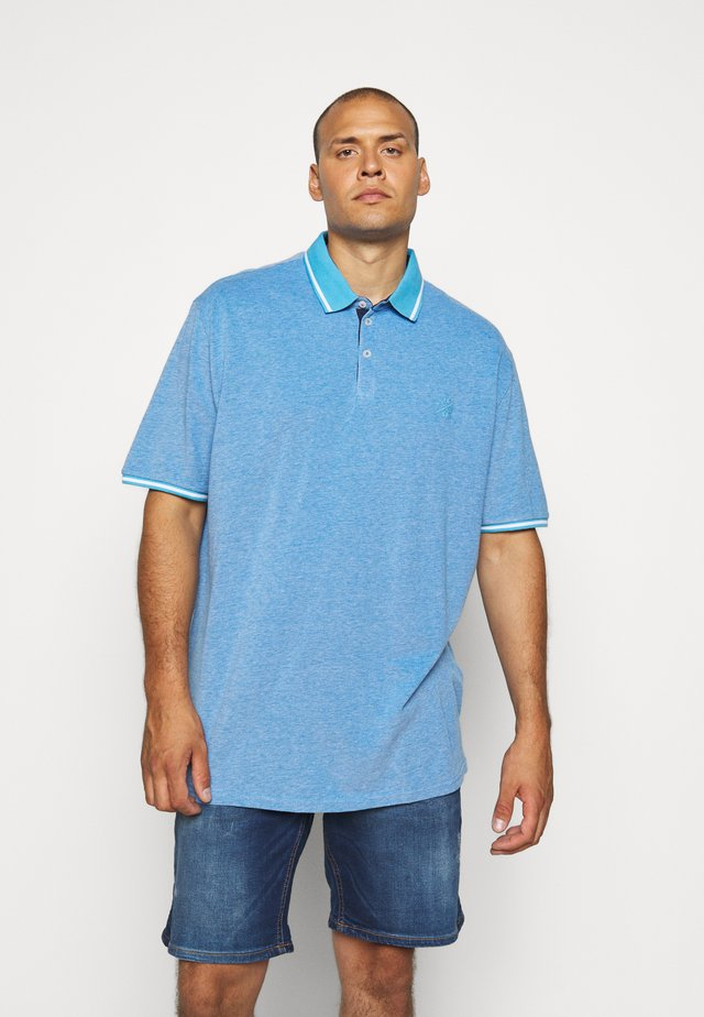 SUMMER TWO-TONE  - Polo - bright blue