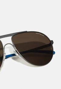 Mont Blanc - Sunglasses - ruthenium/brown - 3