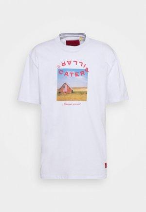 WORKWEAR TEE - T-shirt z nadrukiem - white