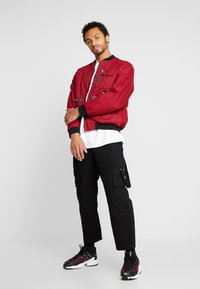 The Ragged Priest - JACKET - Bomber Jacket - burgundy/black - 1