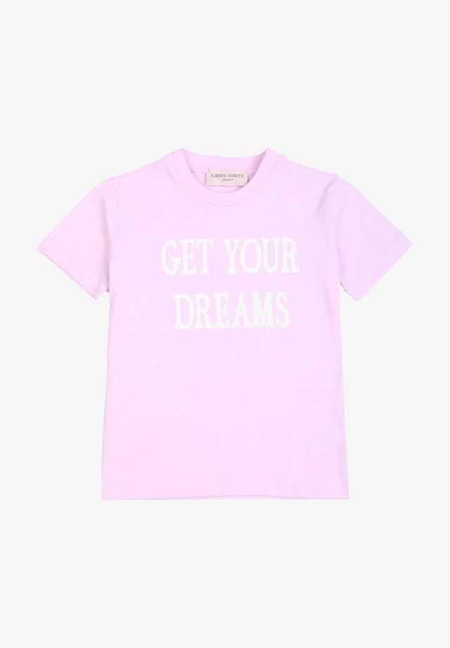 ALBERTA FERRETTI - T-shirt print - rosa