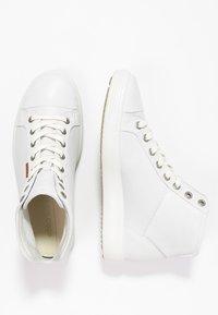 ECCO - SOFT VII - Sneakers hoog - white - 1