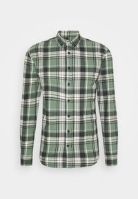 CHECK SHIRT - Skjorta - army/black