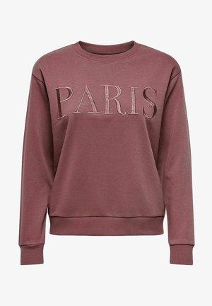 JDYPARIS TREATS - Sweater - rose brown