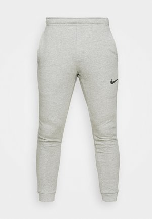 PANT TAPER - Tracksuit bottoms - dark grey heather/black