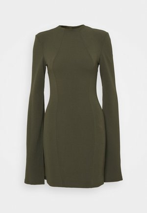 THE SENSE OF MYSTERY DRESS - Jerseyjurk - khaki