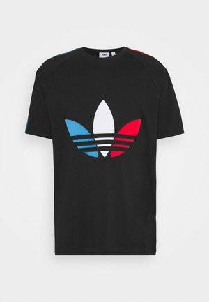 TRICOL TEE UNISEX - T-shirt con stampa - black