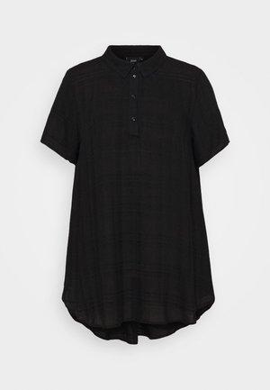EBALLAN TUNIC - Camicetta - black