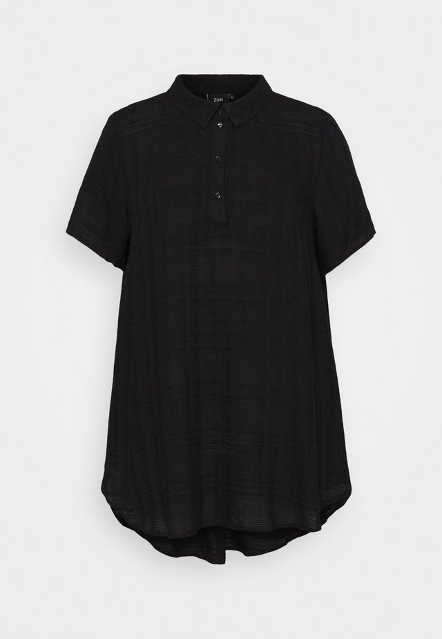EBALLAN TUNIC - Bluzka - black