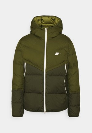 WINDRUNNER  - Down jacket - rough green/sequoia/sail