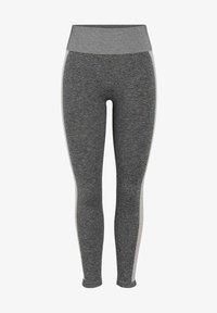 Pieces - Legging - medium grey melange - 0