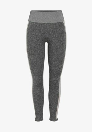Legginsy - medium grey melange