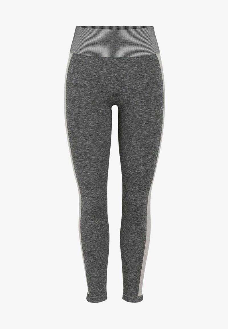 Pieces - Legging - medium grey melange