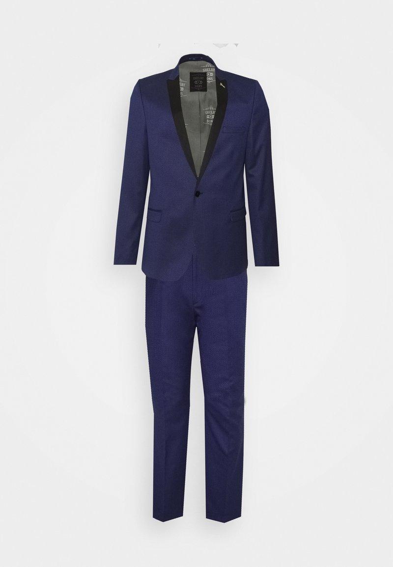 Shelby & Sons - COFTON TUXEDO SUIT  - Suit - navy