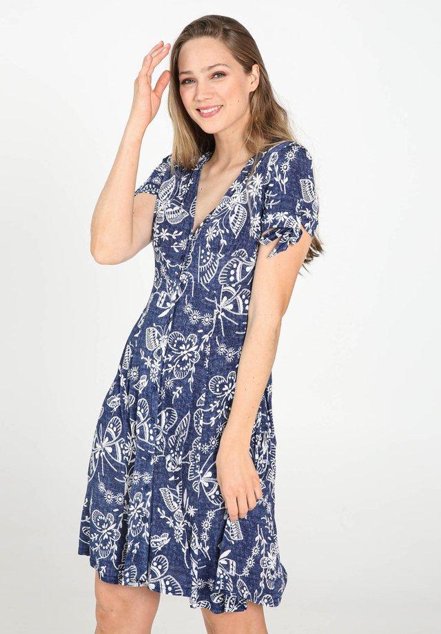 Korte jurk - denim