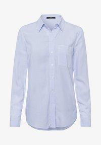 zero - Button-down blouse - fresh blue - 4