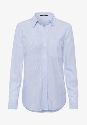 Button-down blouse - fresh blue