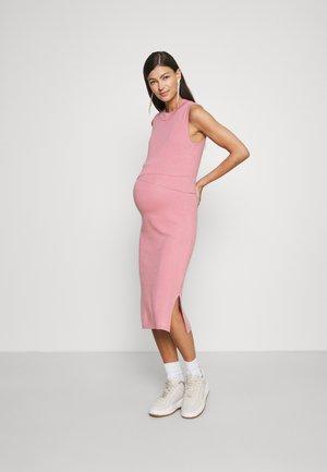 LAYERED NURSING DRESS - Jurk - pink