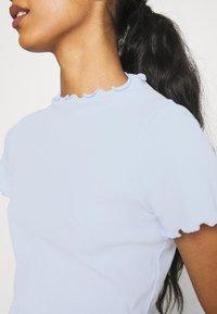 Monki - T-shirts print - blue light - 5
