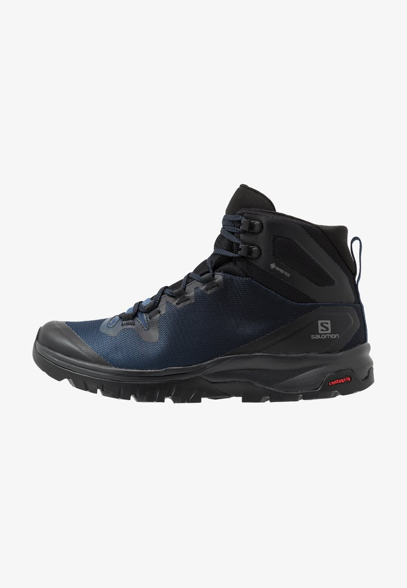 Salomon - VAYA MID GTX - Outdoorschoenen - black/sargasso sea/black